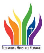 Reconciling Ministries Network logo.